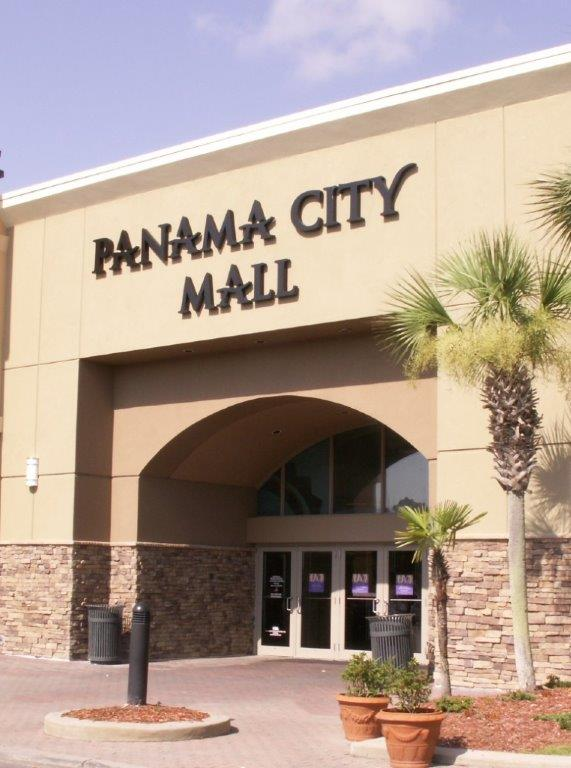 Panama City Mall Main Entrance