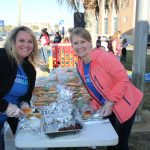 Chamber Members and area residents enjoy free food, music and entertainment at the annual Block Party and Bed Races.