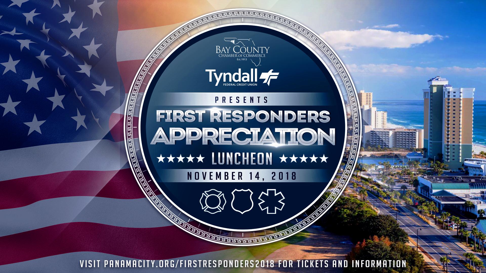 2018 First Responders Appreciation Luncheon