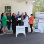 Chamber Ambassadors gather to celebrate the grand opening of SimpleSculpt.