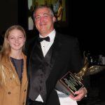 Robert Carroll, 2017 MAC Chairman, enjoys annual dinner with his daughter, Mia Carroll.