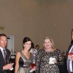 Bay County Chamber Members enjoy evening social and silent auction at 2018 Annual Dinner and Awards Ceremony.``