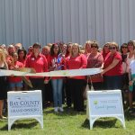 Chamber ambassadors gather to celebrate the grand opening of Girl's Inc.