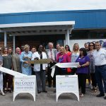 Chamber ambassadors gather to celebrate the grand opening of Haney Technical Center's Nursing Facility.