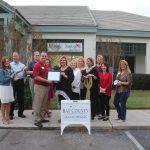Chamber ambassadors gather to celebrate the grand opening of Sister Kate's Boutique.