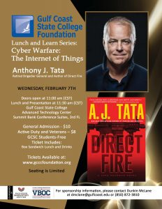 Gulf Coast State College presents Cyber Warefare Lunch and Learn
