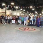 Chamber Ambassadors gather to celebrate the Panama City Toyota ground breaking.