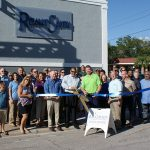 Chamber ambassadors gather to celebrate the grand opening of ReliantSouth Construction Group.