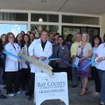 Chamber Ambassadors gather to celebrate the grand opening of the Hearing Institute.