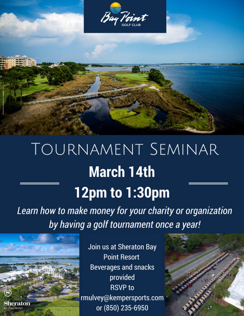 Bay Point Golf Club Tournament Seminar