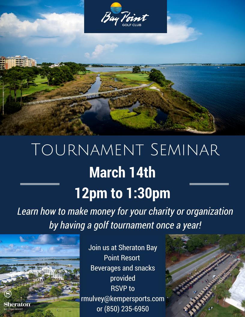 Bay Point Golf Club Tournament Seminar