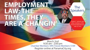 Attend the Employment Law Seminar on March 2nd at 9:30 am