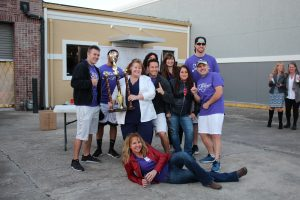 """Bay Medical Sacred Heart's team, """"Super Heroes at Heart,"""" wins first place."""