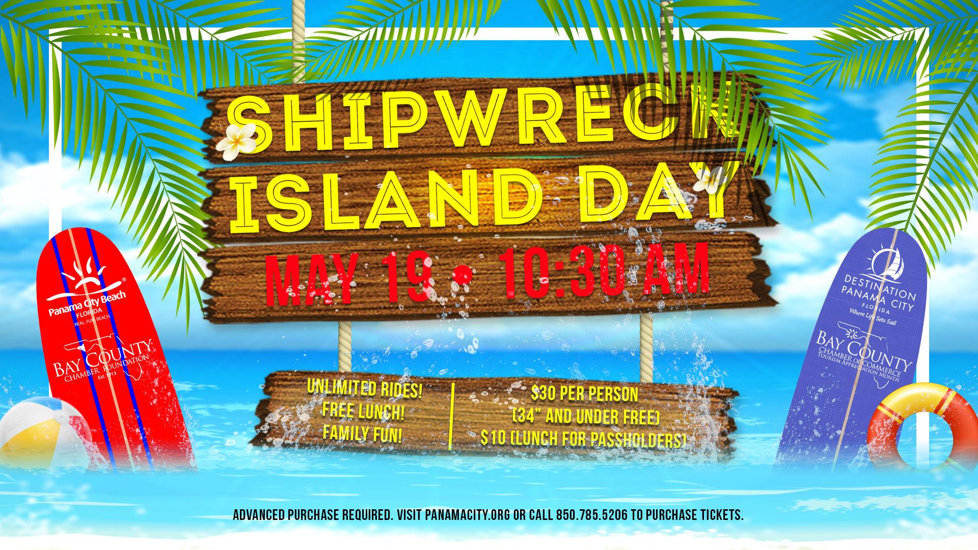 Shipwreck Island Day