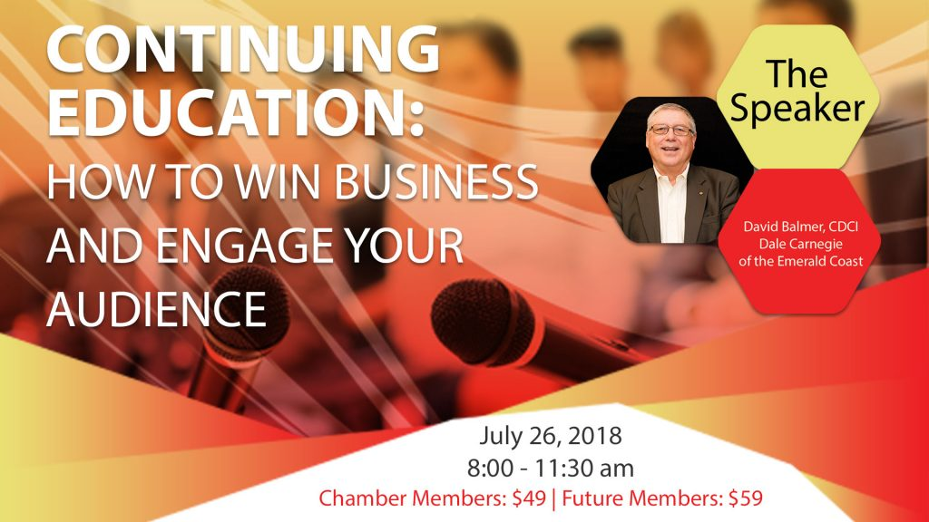 Continuing education: how to win business and engage your audience