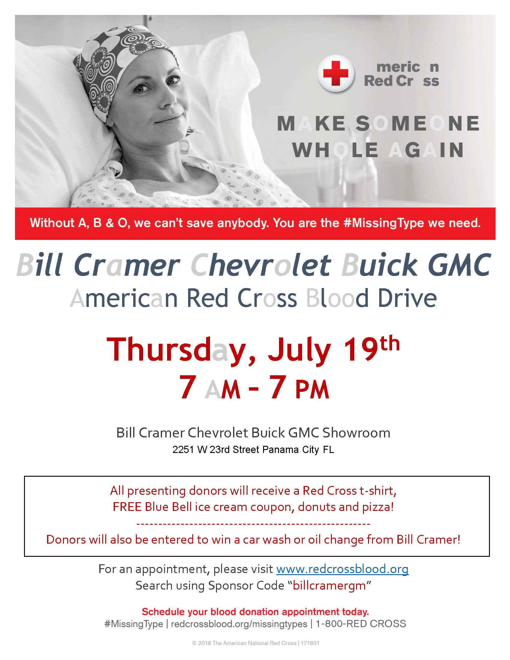 american red cross blood drive - bay county chamber of commerce