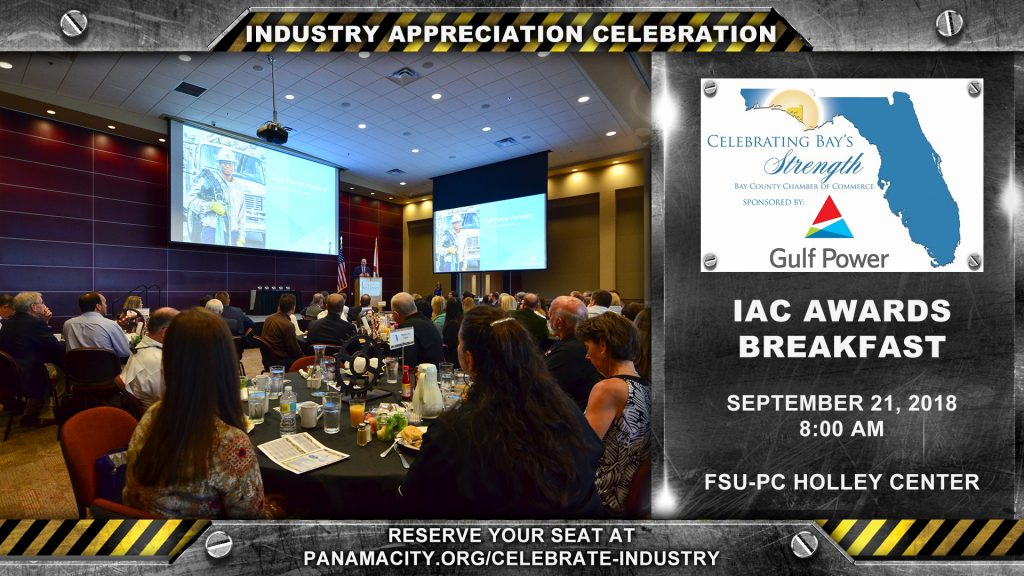 The IAC Awards Breakfast will be held on September 21, 2018 from 9:00 - 11:00 am.