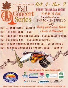 2018 Fall Concert Series