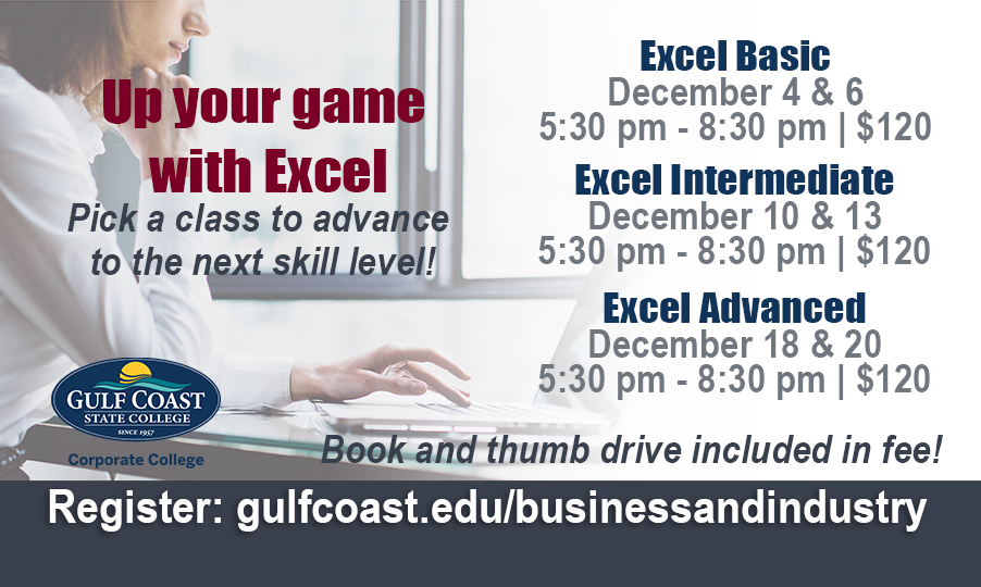 excel basic bay county chamber of commerce