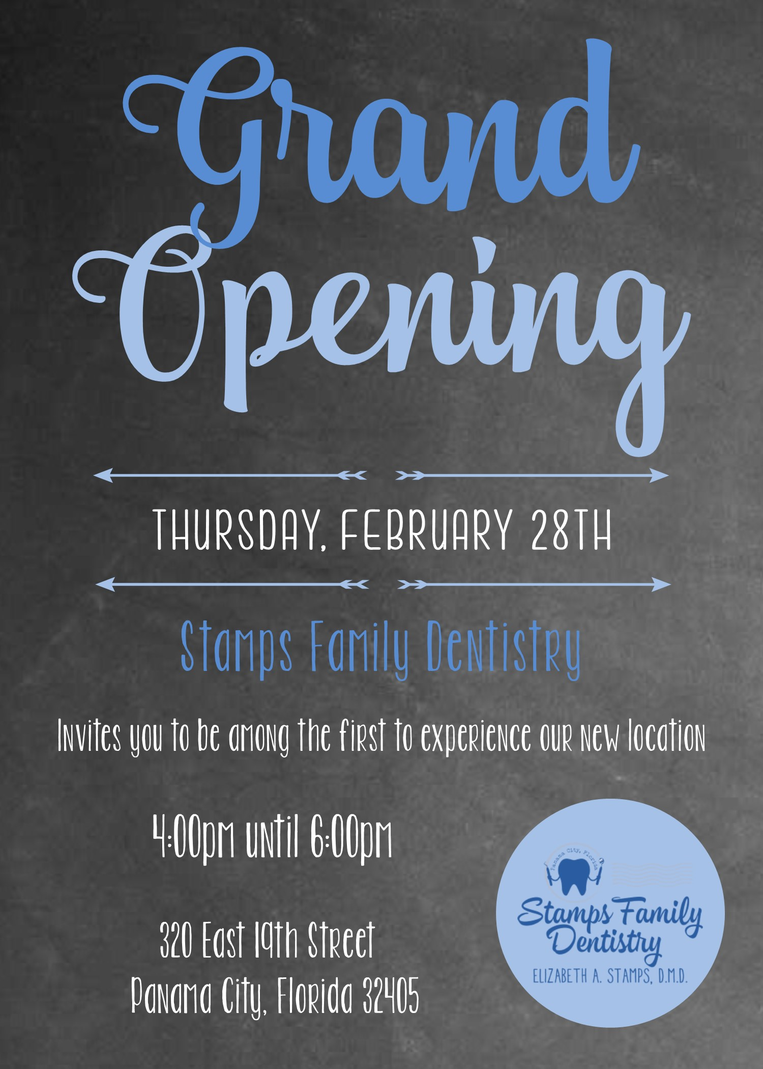 Stamps Family Dentistry Grand Opening and Open House